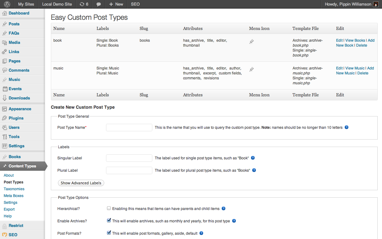 Creating wp list tables by hand pippins plugins for Table design wordpress plugin